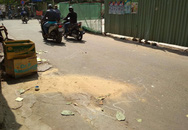 Đang đứng trên đường, thanh niên 9x bị thanh sắt từ cao ốc ở Sài Gòn rơi trúng đầu ngã gục