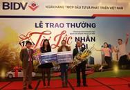 BIDV trao giải nhất trị giá 500 triệu đồng cho khách hàng trúng thưởng