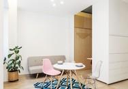 Chiếc tủ biến hóa ra đủ loại phòng cho căn hộ 29 m2
