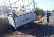 Xe tải gãy trục tông chết 3 chị em