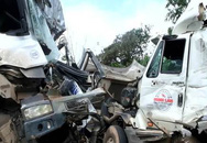 Tài xế tử vong sau tai nạn đấu đầu của hai xe đầu kéo