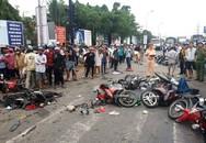 Clip hiện trường vụ tai nạn thảm khốc ở Long An