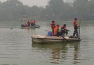 Nam thanh niên bất ngờ nhảy xuống hồ Gươm, bơi ra xa và tử vong