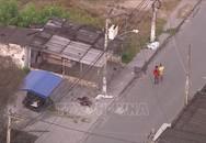 Đấu súng giữa cảnh sát và nhóm cướp làm 10 người bị thương vong
