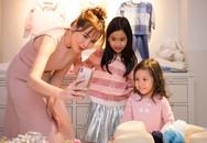 Bất ngờ hình ảnh 2 con gái lớn phổng phao của gia đình Lưu Hương Giang - Hồ Hoài Anh