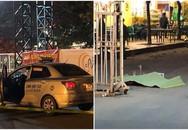 Trước khi gục ở cửa SVĐ Mỹ Đình, tài xế taxi nghi bị cứa cổ đã phát tin cầu cứu