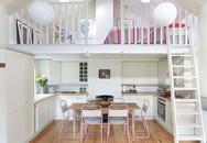Nhà bếp dưới gác lửng - giải pháp hoàn hảo cho một ngôi nhà cần tiết kiệm không gian tối đa