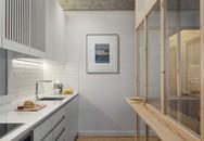 Không gian phụ được làm từ khung gỗ như chiếc lồng cách điệu đã khiến ngôi nhà này trở nên rất đặc biệt