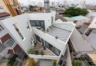 Xây trên miếng đất hình lục giác, ngôi nhà Việt vẫn đẹp thuyết phục