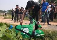 Thực nghiệm hiện trường vụ nam sinh chạy Grab bị sát hại ở Hà Nội