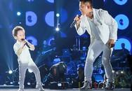 Con trai Tuấn Hưng nhảy sung, hát cùng bố
