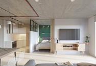 Căn hộ 25m2 nhìn rộng thênh tháng vì có thiết kế nội thất hợp lý