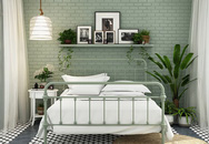 Phòng ngủ màu xanh sẽ mang đến nguồn năng lượng tích cực cho cuộc sống của bạn