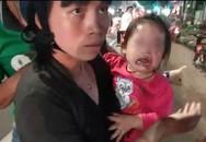 Bình Dương: Nhiều xe máy ngã dúi dụi, bà bầu và trẻ em khóc thét vì trên đường bất ngờ đổ đầy dầu nhớt