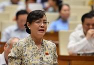 ĐBQH Nguyễn Thị Quyết Tâm rớm nước mắt ở nghị trường khi phản biện tăng giờ làm thêm