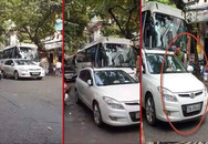 Hà Nội: Công an phường bị phạt 1 triệu đồng vì đỗ xe dưới lòng đường