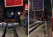 """Nam thanh niên tử vong do bị tàu hỏa đâm gần phố """"đường tàu"""" Phùng Hưng"""