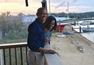 Vợ chồng Obama mừng 27 năm ngày cưới
