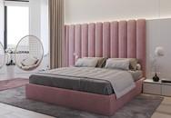 Căn hộ gây ấn tượng mạnh khi sử dụng xanh lá và hồng để trang trí