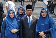 """Nghị sĩ Indonesia có 3 vợ nói """"đa thê có thể thực hiện một cách hài hòa và tốt đẹp"""""""