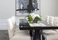 Những phòng ăn màu trắng đẹp xuất sắc
