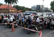 Hà Nội rào chắn nhiều vị trí thi công ga ngầm tuyến đường sắt Nhổn - ga Hà Nội