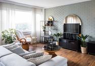 Căn hộ tầng cao có nội thất đơn giản nhưng đẹp không tì vết
