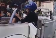 Đang trên đường tới đám cưới, cô dâu bị người yêu cũ chặn xe cưỡng hôn, khuyên dừng cưới
