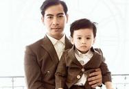 Chồng Ngọc Lan nhắn con trai 'hãy mạnh mẽ'