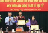 Khen thưởng đặc biệt nữ chủ quán ăn nhặt được 3.500 USD trả khách