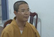 Thầy chùa đập vỡ kính ôtô bị khởi tố