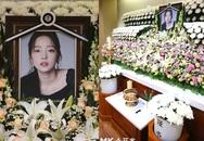 Không khí trầm buồn tại tang lễ trắng toát của Goo Hara