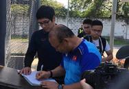 """Thủ tục """"lạ"""" tại SeaGames 30 của đội U22 Việt Nam trước khi ra sân"""