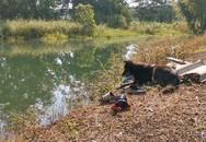 Chó trung thành đợi mãi bên bờ ao khi chủ trượt chân chết đuối
