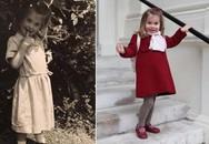 Cháu gái Diana thời nhỏ giống hệt Charlotte