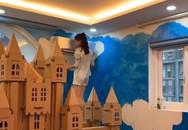Diễn viên Vân Trang tự tay biến phòng con gái thành một căn phòng như bước ra từ truyện cổ tích mà bất cứ bố mẹ nào cũng phải ngưỡng mộ