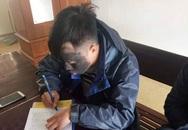 Phạt thanh niên bôi mặt đen để đi ăn xin ở Nghệ An