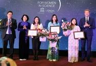 3 nhà khoa học nữ xuất sắc năm 2019 nhận học bổng nghiên cứu trị giá 150 triệu đồng