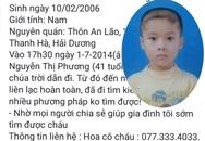 Hải Dương: Vợ mang con trai bỏ nhà đi biệt tích, chồng mỏi mòn tìm kiếm suốt 6 năm trời