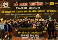 CLB B.Bình Dương giành chức vô địch Giải bóng đá Quốc tế Cúp Number 1