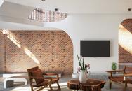 Ngôi nhà gây ấn tượng mạnh nhờ tường làm bằng gạch trần