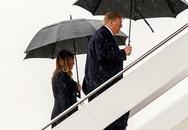 Ông Trump suýt bỏ quên vợ khi lên trực thăng