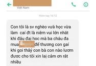 Cay mắt dòng tin nhắn người mẹ gửi kẻ trộm điện thoại