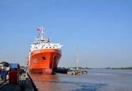 Hạ thủy tàu tìm kiếm, cứu nạn tàu ngầm đa năng đầu tiên do Việt Nam đóng mới tại Hải Phòng