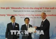 Giải thưởng Alexandre Yersin về nghiên cứu y học 2019 – 2020
