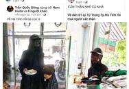 """Thực hư thông tin xuất hiện người ăn xin """"mặt đen"""" ở Hà Tĩnh"""