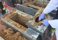 Vụ 13 mộ liệt sĩ ở Bắc Kạn toàn đất đá:Có gia đình tự đào sâu và lấy được xương cốt