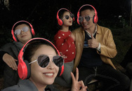 Vợ chồng Jennifer Phạm cho hai con du xuân ở Mộc Châu