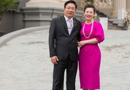 Cuộc sống trong lâu đài 7 tầng xa hoa của gia đình cô dâu xinh đẹp ở Nam Định