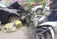 Xác định danh tính tài xế Mazda3 gây tai nạn liên hoàn ở Hà Nội